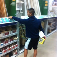 Photo taken at Lowe's Home Improvement by Mike R. on 2/12/2012
