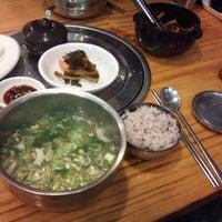 Photo taken at 닭한마리 홍 by Adi J. K. on 10/19/2011