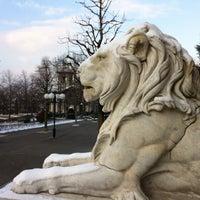 Photo taken at Esplanade de Montbenon by MM's on 2/1/2012
