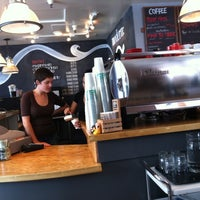 Photo taken at Modern Coffee by Paula W. on 8/8/2011