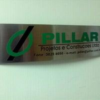 Photo taken at Pillar Projetos e Construções by Marcelo V. on 10/7/2011