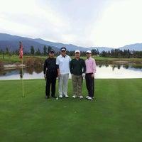 Photo taken at Santiago Club de Golf by David L. on 4/28/2012