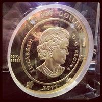 Photo taken at Royal Canadian Mint by Dan U. on 10/22/2011