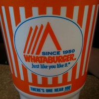 Photo taken at Whataburger by Dan D. on 5/1/2011