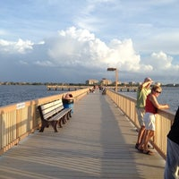 Photo taken at Cape Coral Beach at Yacht Club Community Park by Diana J. on 6/17/2012