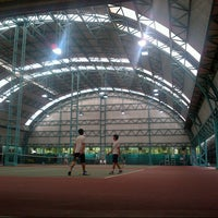 Photo taken at RBSC Tennis Court by Big R. on 7/22/2012