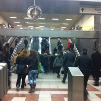 Photo taken at Syntagma Metro Station by Κωνσταντινα on 2/1/2012