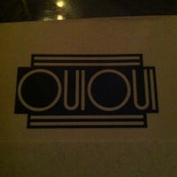 Photo taken at Oui Oui by Gabriel P. on 9/25/2011