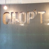 Photo taken at Chop't Creative Salad Company by Lu A. on 4/18/2012