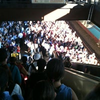 Photo taken at Estação Santo Amaro (CPTM) by Paulo R. on 3/14/2012