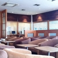 Photo taken at PURA INDAH First & Business Class Lounge by Jessica S. on 8/11/2011