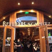 Photo taken at Brauhaus Schmitz by Eric M. on 5/4/2012
