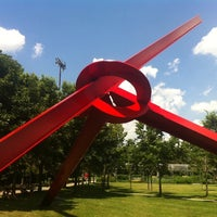 Photo taken at Minneapolis Sculpture Garden by Rick S. on 7/8/2011