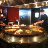 Photo taken at HuHot Mongolian Grill by Allen A. on 8/30/2011