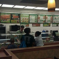 Photo taken at SUBWAY by Brian M. on 8/18/2011