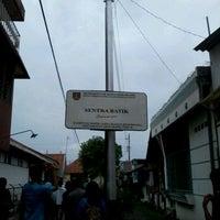 Photo taken at Kampung Batik by Nenden S. on 3/11/2012