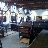 Photo taken at Museum Plantin-Moretus | Prentenkabinet by Aleph O. on 1/10/2012