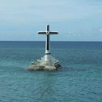Photo taken at Sunken Cemetery Cross by EddyVer on 1/23/2012