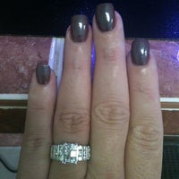 Photo taken at Sandy's Nails by Margaret on 11/19/2011