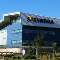 Photo taken at Solyndra Building 4 by David on 9/1/2011