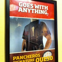 Photo taken at Pancheros Mexican Grill by Ryan D. on 6/20/2012