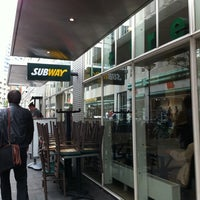 Photo taken at SUBWAY® by Willem v. on 9/10/2011