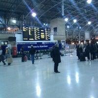 Photo taken at Aberdeen Railway Station (ABD) by Bruce S. on 1/13/2012