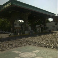 Photo taken at Pemex gasolinera Gutierrez by Diego A. on 10/3/2011