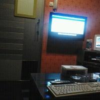 Photo taken at NAV Karaoke Keluarga by Shasha R. on 12/30/2011