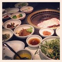 Photo taken at Han Gang Korean Cuisine by Mason R. on 4/14/2012