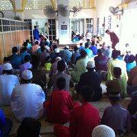 Photo taken at Masjid al-Khalifah by Hafiz K. on 8/19/2012