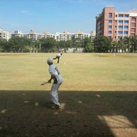 Photo taken at Thakur Cricket Ground by Shardul V. on 11/29/2011