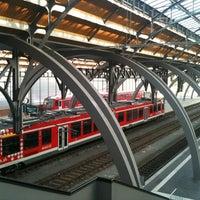 Photo taken at Lübeck Hauptbahnhof by Till S. on 6/20/2011