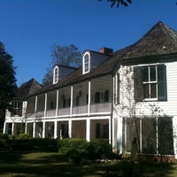 Photo taken at Melrose Plantation by Kim M. on 10/29/2011