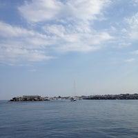 Photo taken at Porto dell'Etna - Marina di Riposto by Alessandra C. on 8/19/2012