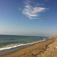 Photo taken at Playa Puerto Rey by Evgenii R. on 6/9/2012