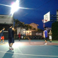 Photo taken at AIS Basketball Court by Maetee L. on 8/23/2012