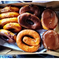 Photo taken at Round Rock Donuts by Brian M. on 5/20/2012