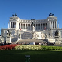 Photo taken at Altare della Patria by Constantine M. on 8/27/2012