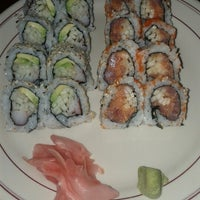 Photo taken at Ocean Blue Sushi by Chaz W. on 8/9/2012