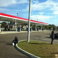 Photo taken at On The Run Exxon by Andre P. on 12/25/2011