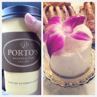 Photo taken at Porto's Bakery & Cafe by Sandra R. on 6/17/2012