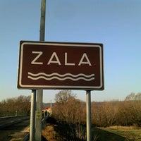 Photo taken at Zala by Boros Z. on 1/25/2012