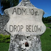 Photo taken at Coral Castle by @Dayngr on 7/23/2011