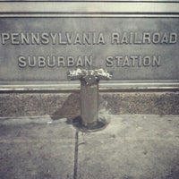 Photo taken at SEPTA Suburban Station by Jukiebot on 1/6/2012