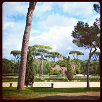 Photo taken at Villa Borghese by Christian Evren L. on 4/22/2012