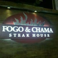 Photo taken at Fogo & Chama Steak House by Tassia G. on 3/2/2012