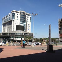 Photo taken at Gautrain Sandton Station by Annél K. on 1/20/2012