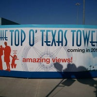 Photo taken at The Top o' Texas Tower by Charles P. on 10/3/2011