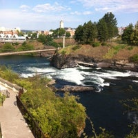 Photo taken at Riverfront Park by Jimmie C. on 7/16/2012